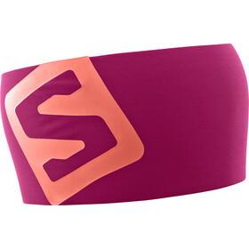 Salomon RS Pro Headband Cerise/Dubarry